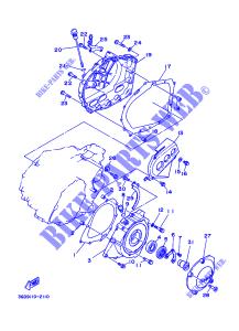 Guarnizione Coperchio Generatore Yamaha ATV Warrior/35R