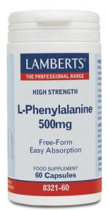 Lamberts L-Fenilalanina 500 Mg 60 Caps