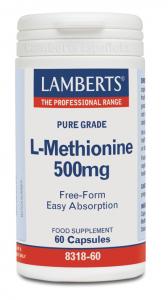 Lamberts L-Metionina 500 Mg 60 Caps