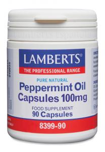 Lamberts Aceite Menta Piperita 90 Caps 100mg