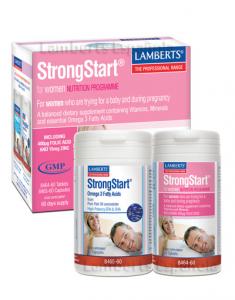 Lamberts Strongstart Para Mujeres 60 Tabs 60 Caps