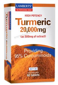Lamberts Turmeric Curcuma 60 Tabs