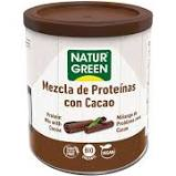Naturgreen Mezcla Proteina Con Cacao Bio 250g