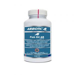 Airbiotic Aceite De Pescado Ab 1200 Mg Fish Oil 120 Capsu