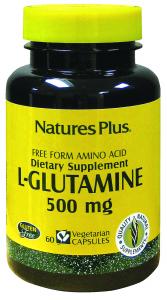 Natures Pl L Glutamina 60 Caps 500 Mg