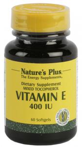 Natures Pl Vitamina e 400 Ui 60 Perlas