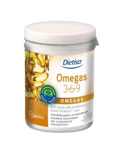 Dietisa Omegas 3 6 9 60 Perlas