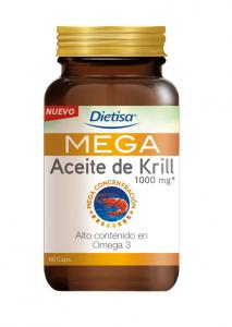 Dietisa Omega 3 Mega Aceite De Krill 60 Perlas