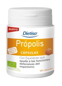 Dietisa Capsulas Propolis Bio 60 Caps