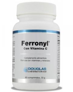 Douglas Ferronyl Con Vitamina C 60 Comp