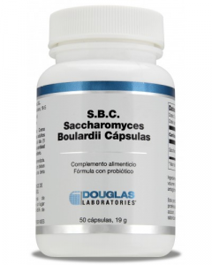 Douglas Sbc Saccharomyces Boulardii 3 Billones Ufc 50 Caps
