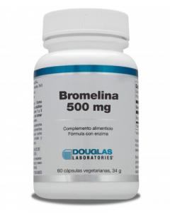 Douglas Bromelina 500 Mg 60 Caps
