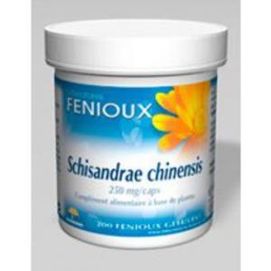 Fenioux Schisandrae Chinensis 250 Mg 200 Caps