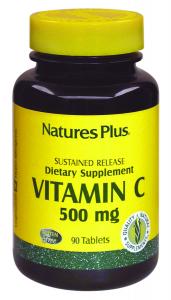 Natures Pl Vitamina C 500 Mg 90 Comp