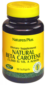 Natures Pl Natural Betacaroteno 90 Perlas