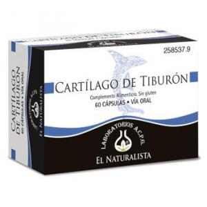 El Natural Cartilago De Tiburon 500 Mg X 60 Caps