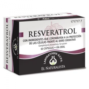 El Natural Resveratrol 60 Caps