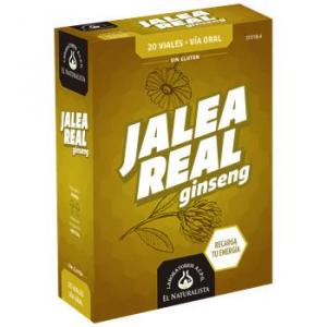 El Natural Jalea Real Con Ginseng 20 Viales Abre Facil