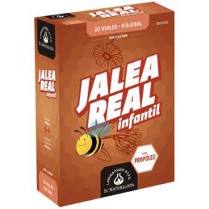 El Natural Jalea Real Infantil Con Propoleo 20 Viales Abre Fa