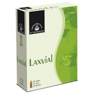 El Natural Laxvial 20 Viales Abre Facil