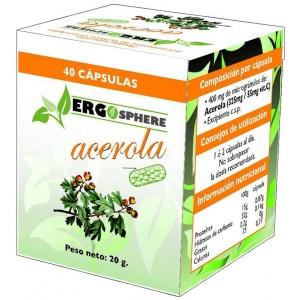 Ergosphere Acerola 40 Caps