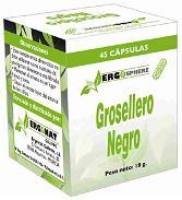 Ergosphere Grosellero Negro Phytogranulos 45 Caps