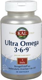 Kal Ultra Omega 3 6 9 50 Perlas
