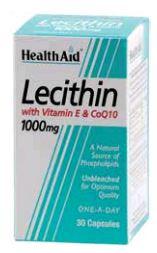 Health Aid Lecitina Con Vitamina e y Coq10 30 Capsulas