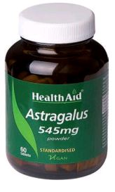 Health Aid Astragalus 545 Mg 60 Comp