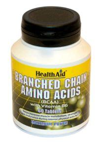 Health Aid Bcaa Aminoacidos Ramificados 60 Comp