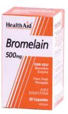 Health Aid Bromelina 500 Mg 30 Vcaps
