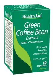 Health Aid Cafe Verde Con Cromo 60 Vcaps
