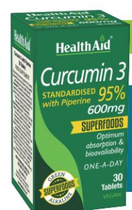 Health Aid Curcumin 3 30 Comp