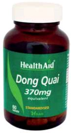 Health Aid Dong Quai 370 Mg 60 Comp