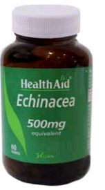 Health Aid Equinacea 500 Mg 60 Comp