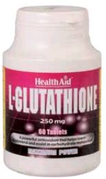 Health Aid L-Glutation 250 Mg 60 Comp