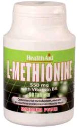 Health Aid L-Metionina 550 Mg 60 Comp