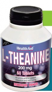 Health Aid L-Teanina 200 Mg 60 Comp