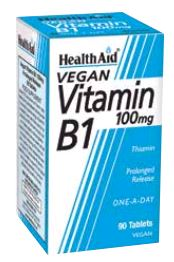 Health Aid Vitamina B1 100 Mg 90 Comp