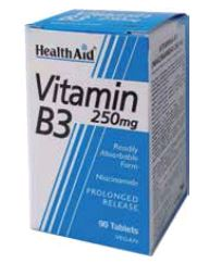 Health Aid Vitamina B3 250 Mg 90 Comp