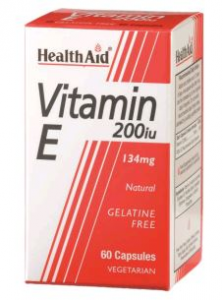 Health Aid Vitamina e Natural 200 Ui 60 Vcaps