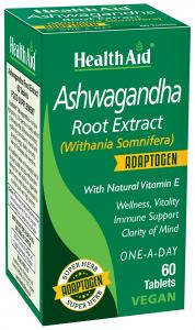 Health Aid Ashwagandha 60 Caps