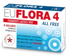 Herbofarm Euflora Advance All Free 510 Mg 24 Caps