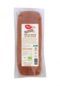 Granero Pan De Molde Con Trigo Sarraceno S-Gluten Bio 445g