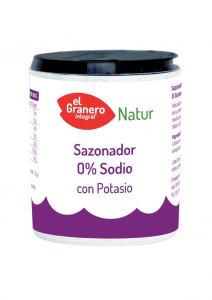 Granero Sazonador 0 Sodio Con Potasio 200g