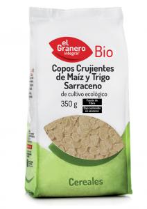 Granero Copos Crujientes De Maiz y Trigo Sarraceno Bio 350