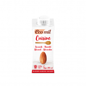 Nutriops Ecomil Cuisine Almond Nature 200ml