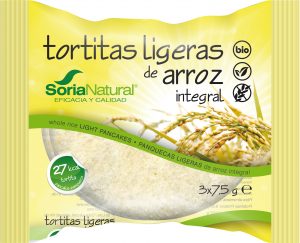 Alecosor Tortitas Ligeras De Arroz Integral S-Gluten Bio