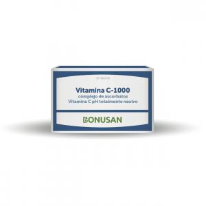 Bonusan Vitamina C-1000 Complejo De Ascorbatos Blister 30
