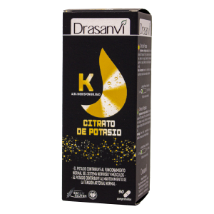 Drasanvi Mineral Citrato Potasio 90 Comp